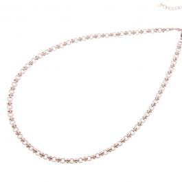 Ketting schakel rose goud – Go Dutch Label