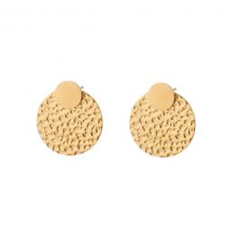 Oorbellen dubbel rondje goud – Go Dutch Label