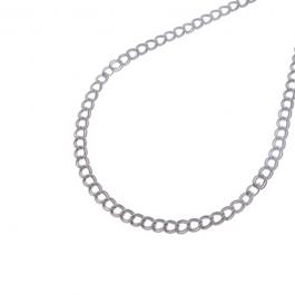 Ketting dubbele schakel zilver – Go Dutch Label