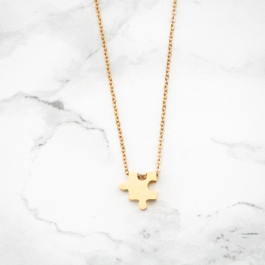 Ketting met puzzelstukje – Custom Made by Mila