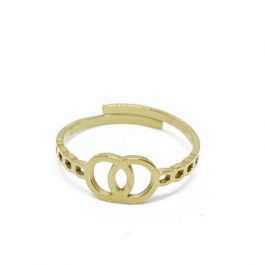 Infinity ring goud – ZAG Bijoux