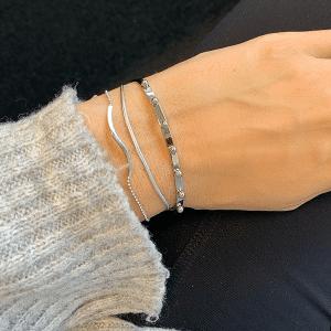 zilveren armband zag bijoux made by mila