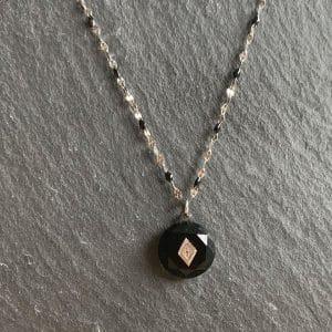 zilveren ketting zag bijoux made by mila