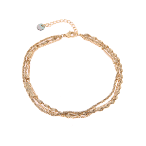 gouden armband 3-delig Go Dutch Label