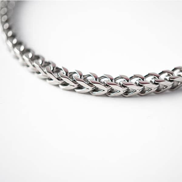 armband-schakel-zilver