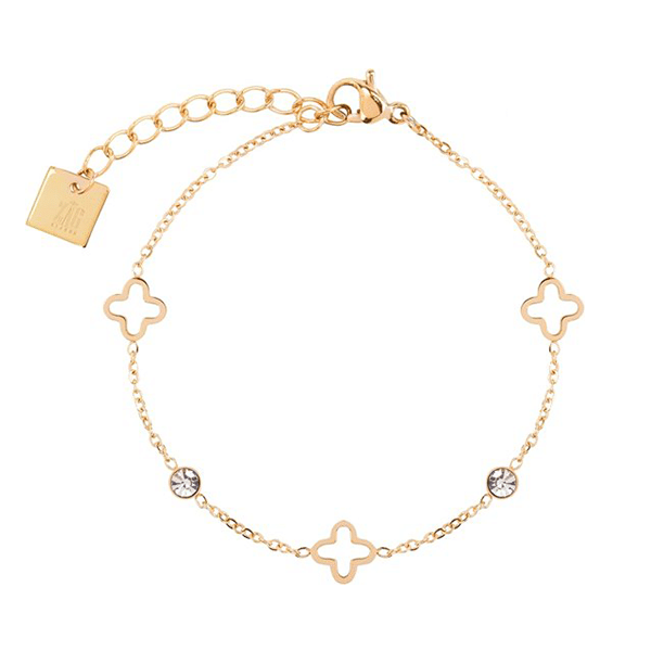 armband-zag-bijoux-goud-klaver