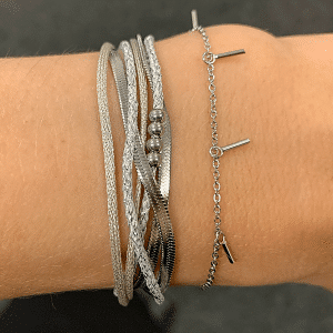 zilveren armbanden Go Dutch Label