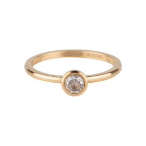 gouden bright shiny ring Charmin's