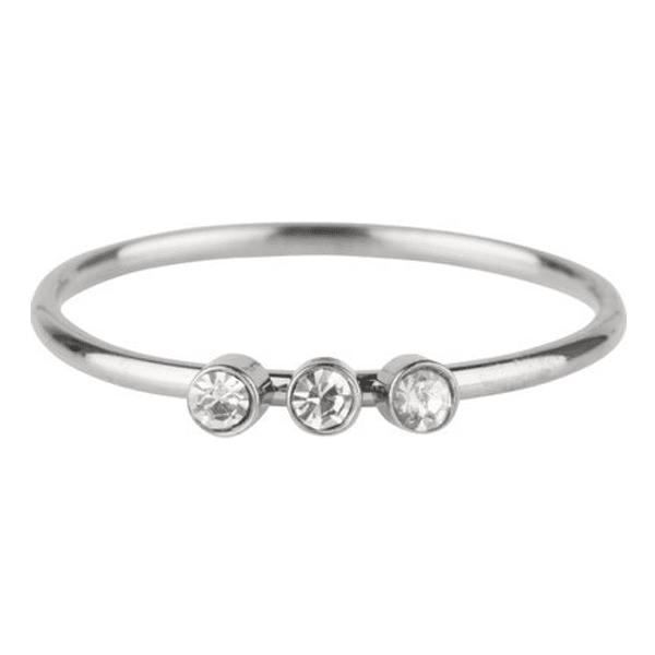zilveren 3 zikonia's ring Charmin's