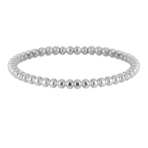 zilveren bubbling ring Charmin's