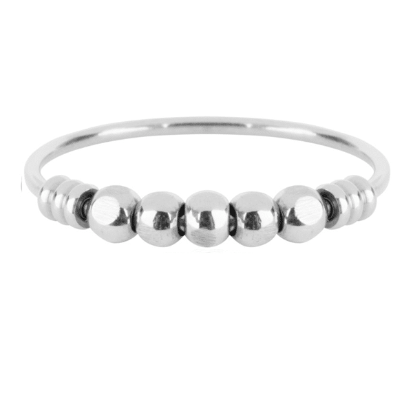 zilveren palm ring Charmin's