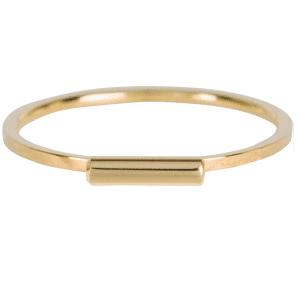 gouden tube ring Charmin's
