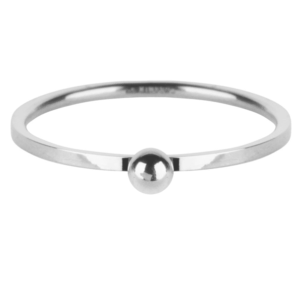 zilveren dot ring Charmin's