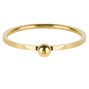 gouden dot ring Charmin's