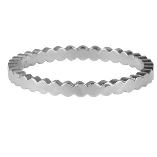 zilveren basic crown ring Charmin's