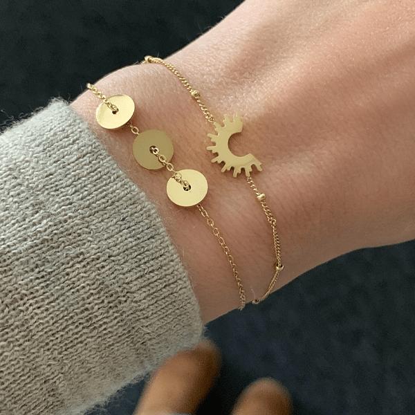 gouden armbanden Go Dutch Label