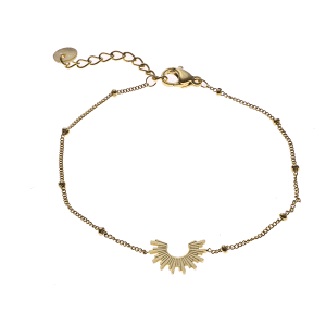 gouden armband sunshine Go Dutch Label