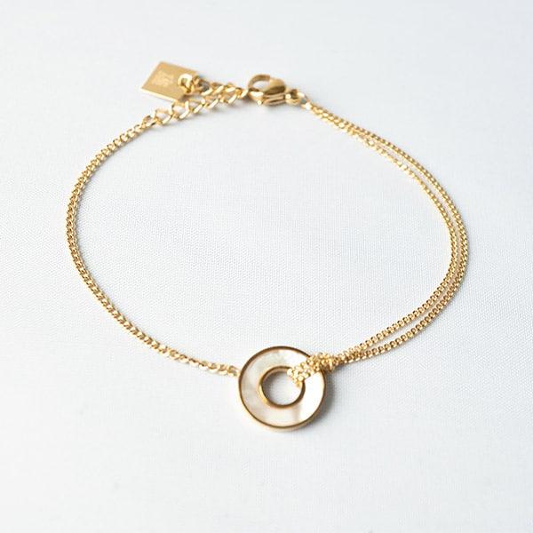 gouden armband zag bijoux
