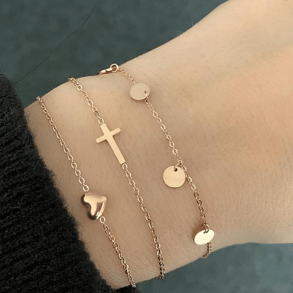 rosé armbanden