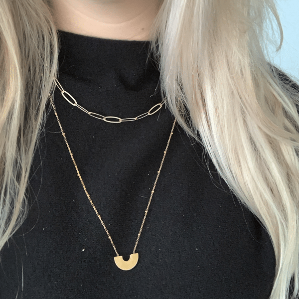 gouden ketting lang go dutch label