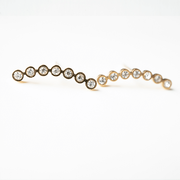 gouden oorbellen met zirkonia zag bijoux