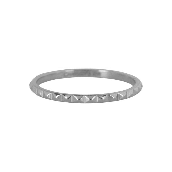zilveren nefertiti ring Charmin's