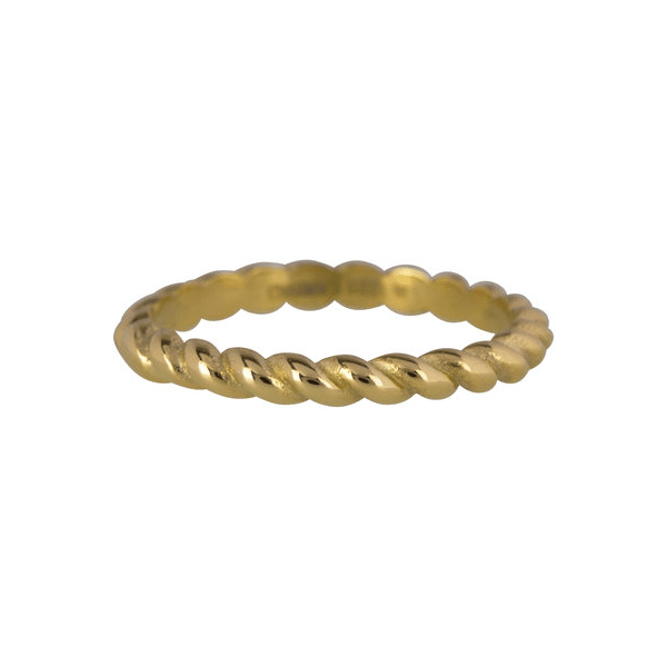 gouden curve ring Charmin's