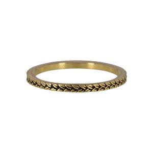 gouden briads ring Charmin's
