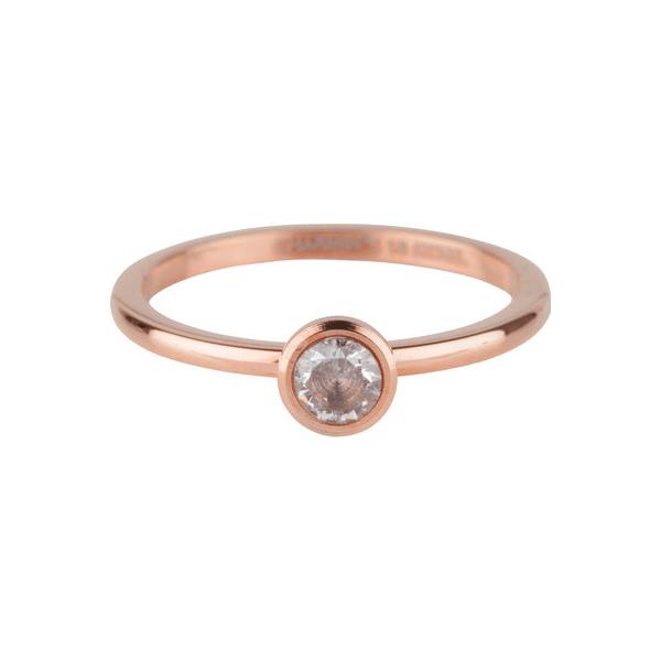 rosé bright shiny ring Charmin's