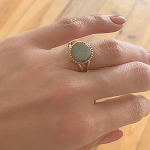 gouden ring za bijoux