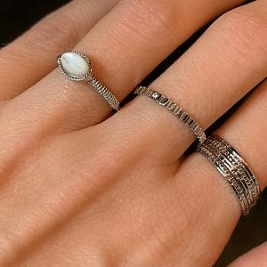 zilveren ringen zag bijoux