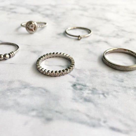 foto zilveren ringen