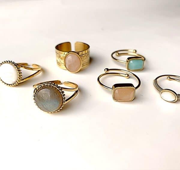 gouden ringen zag bijoux