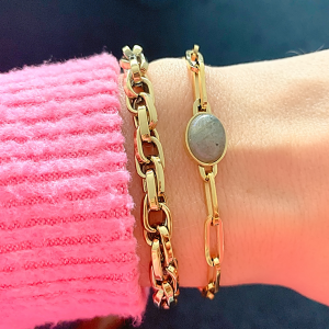gouden schakel armbanden zag bijoux