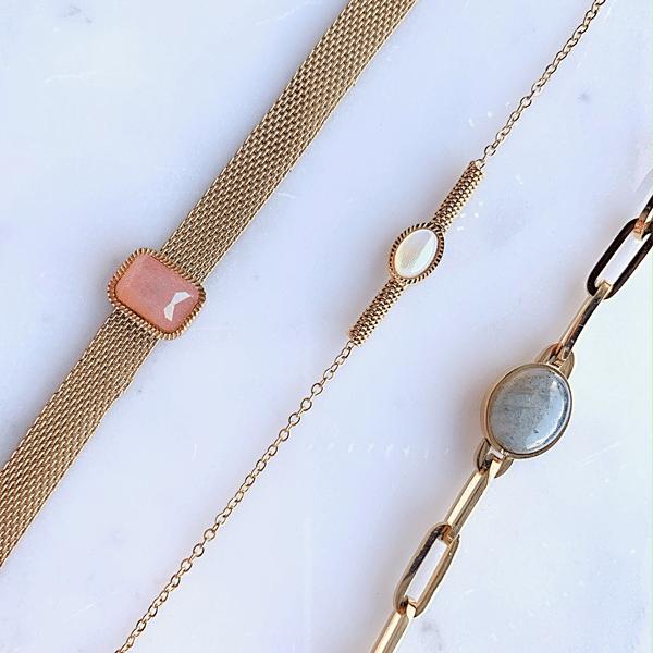 gouden armbanden met steen zag bijoux