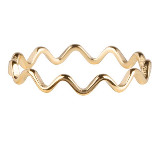 ring wave goud