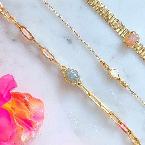 gouden armbanden met steentjes zag bijoux