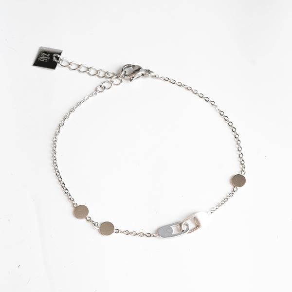 Made by Mila | Zilver enkelbandje met schakel - ZAG Bijoux 1