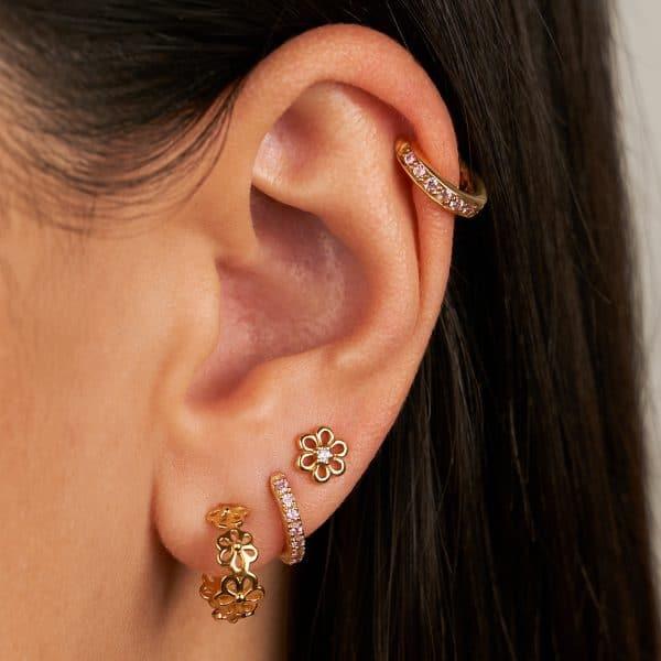 oorbellen goud van Eline Rosina