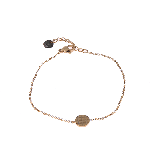 Made by Mila | Armband rondje goud- Go Dutch label 1