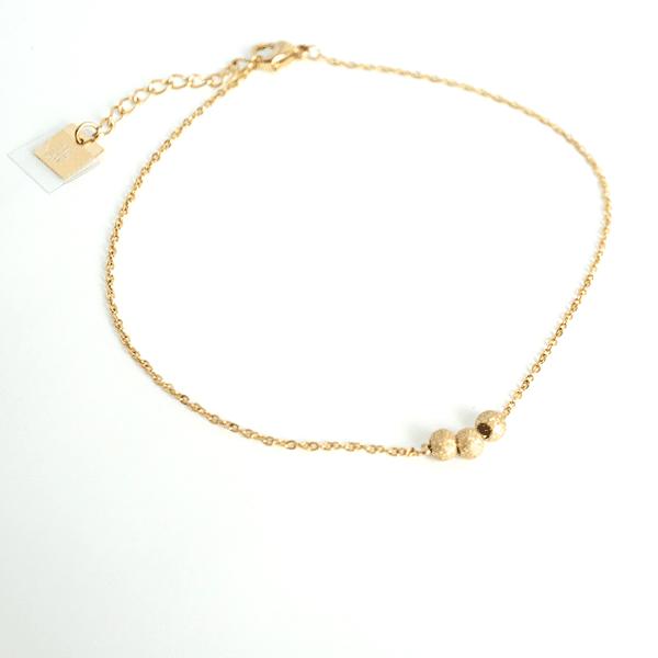 Made by Mila | Enkelbandje rondjes goud- ZAG Bijoux 1