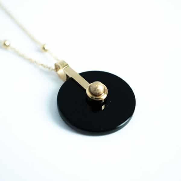 Made by Mila | Ketting amulet zwart - ZAG Bijoux 2