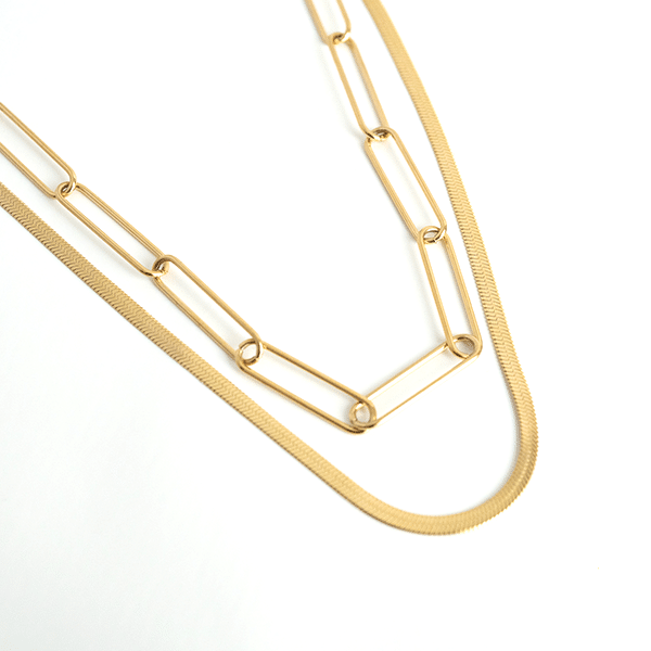 Made by Mila | Ketting schakels dubbel - ZAG Bijoux 1