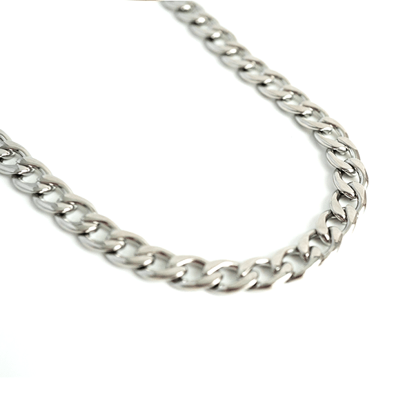 Made by Mila | Ketting grove schakel zilver - ZAG Bijoux 1