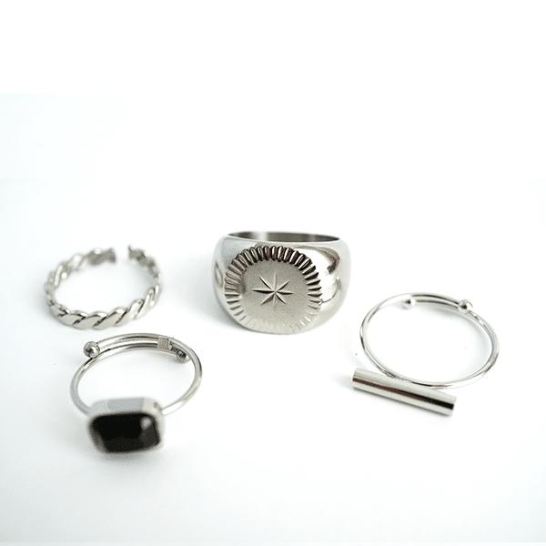 Made by Mila | Verstelbare gedraaide zilveren ring- ZAG Bijoux 4