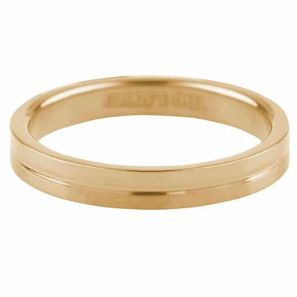 Made by Mila | Ring goud 'Matt & Shiny' - Charmin's 1