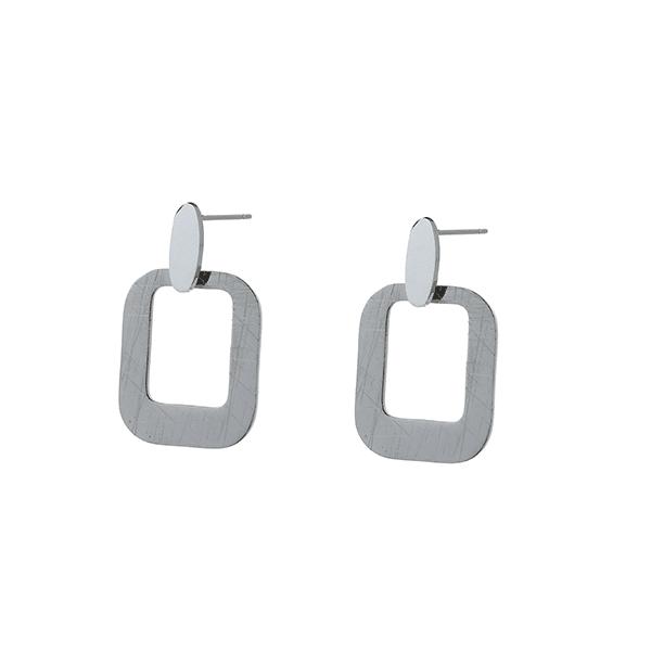 Made by Mila | Oorbellen hanger zilver- Go Dutch Label 1