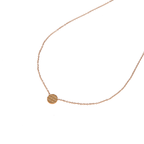 Made by Mila | Ketting rondje goud - Go Dutch Label 1