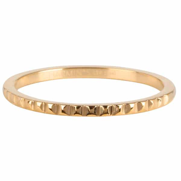 Made by Mila | Ring goud 'half neferiti' - Charmin's 1