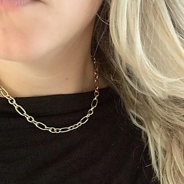 ketting goud go dutch label made by mila